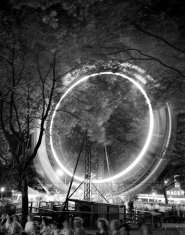 For some photographs, Stewart Love left his shutter open for up to 45 seconds. (Stewart Love/The Pittsburgh Press)