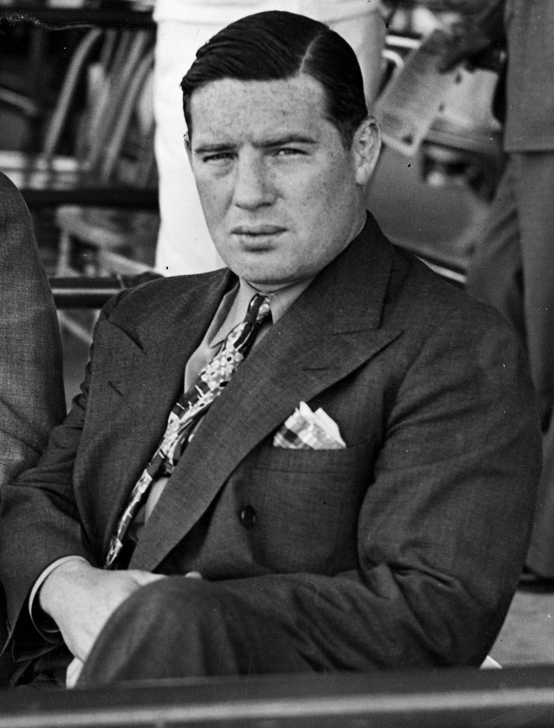 Rooney at the track in an undated picture.