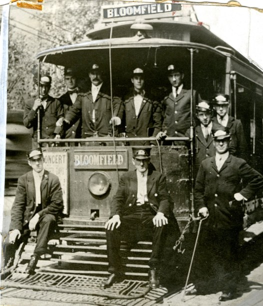 Bloomfield street car, 1910s