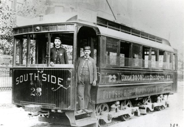 Pittsburgh's romance with street cars and trolley lines