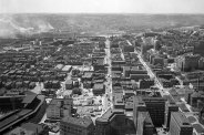 Oakland, facing southwest. (Stewart Love/The Pittsburgh Press)