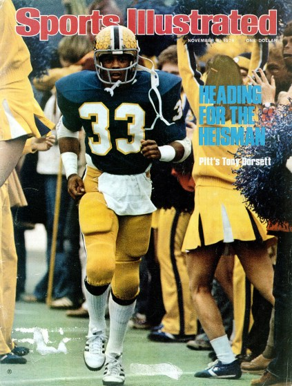The cover of Sports Illustrated in November 1976.