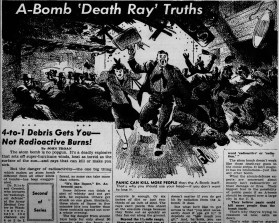 "About the ""death ray"""