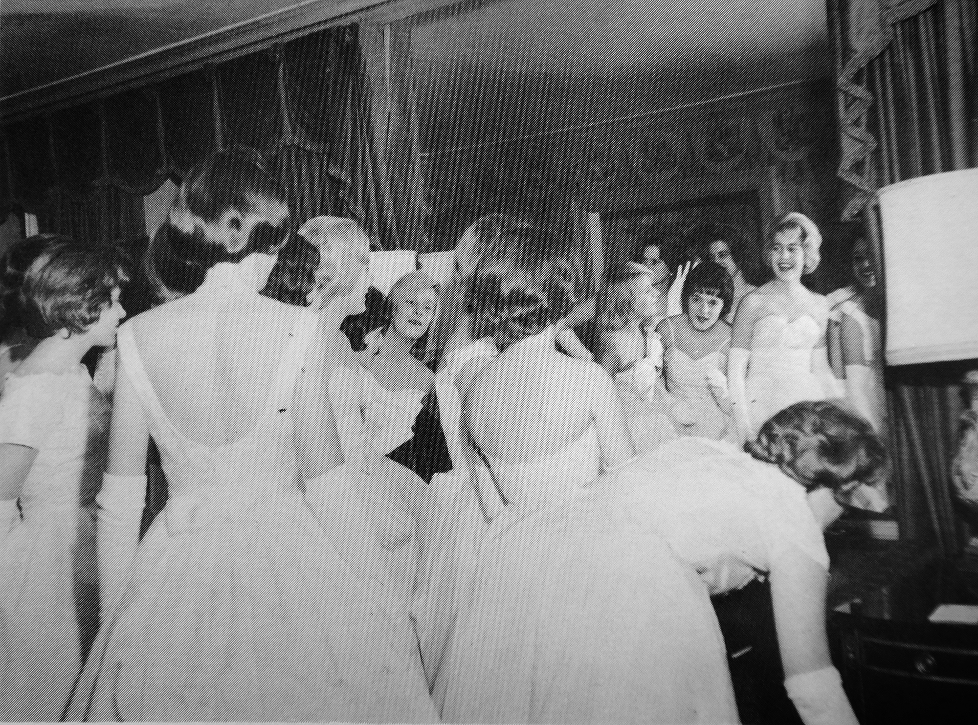 The Cinderella Ball, 1961. (Cinderella Ball Committee Records, MSS 1109, Detre Library & Archives, Heinz History Center)