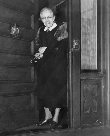 Aunt Molly Beck on Feb. 7, 1946.