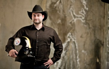 "Dave Filoni, Pittsburgh native, Steelers fan and executive producer of ""Star Wars: Rebels."" (Courtesy of Lucasfilm)"