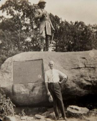 John Burnett at Gettysburg.