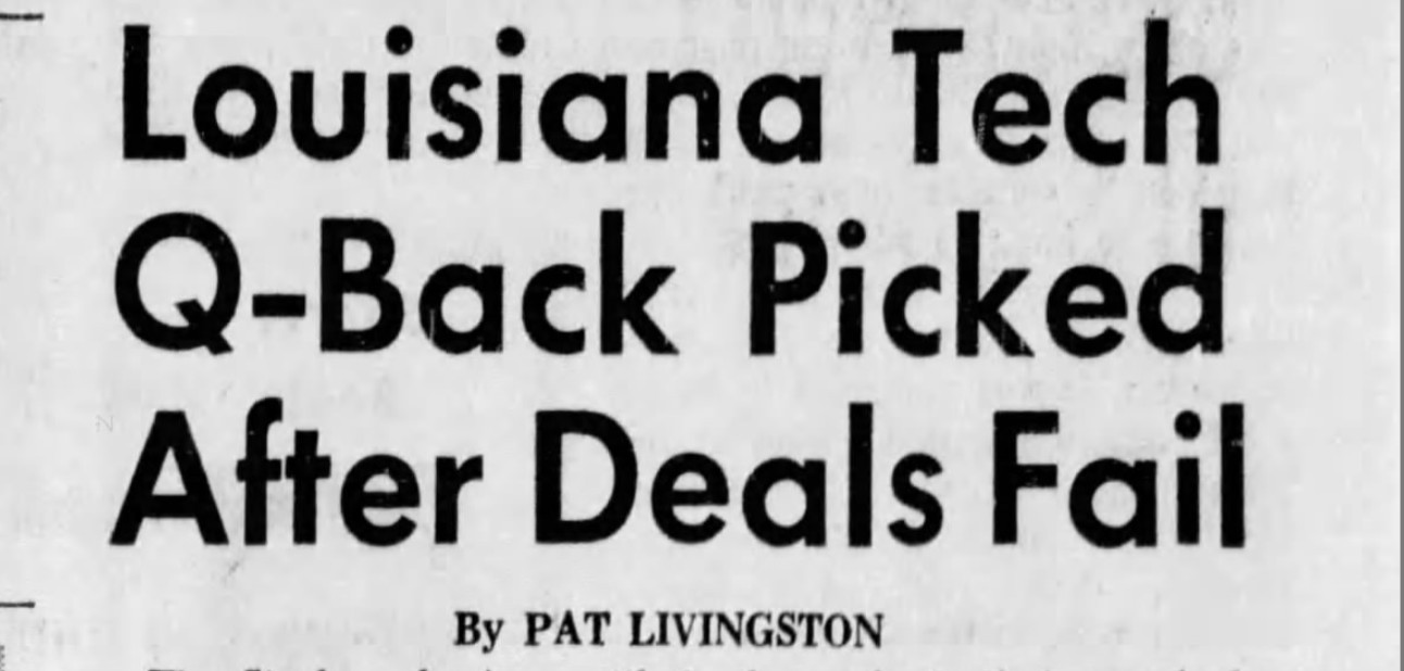 50 years ago, the Steelers came dangerously close to not drafting Terry Bradshaw
