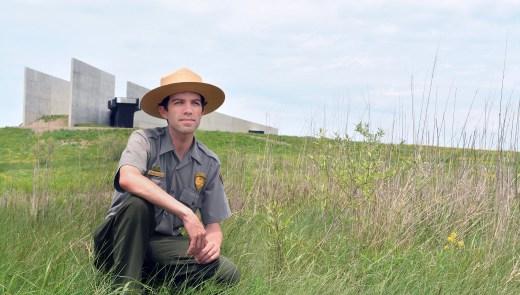Brendan Wilson is lead park ranger for interpretation at the Flight 93 National Memorial in Somerset County. (National Park Service)