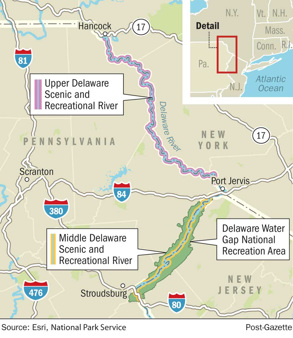 Delaware Water Gap National Recreation Area: Home to s since ... on