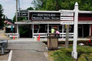 In Peninsula, Ohio, the small town in the heart of Cuyahoga Valley National Park, visitors can rent bikes to ride along the Ohio and Erie Canal Towpath Trail.