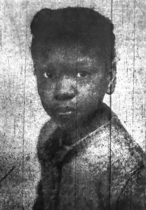Julia Mae Johnson as she appeared on the front page of the Pittsburgh Courier on July 18, 1953.