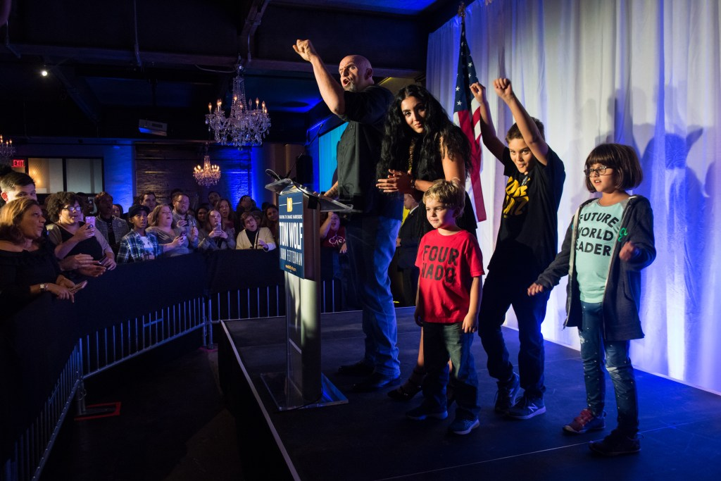 John Fetterman Unconventional In Size And Rise Pittsburgh Post Gazette Interactive