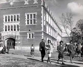 Scott High School. Blade file photo 1962