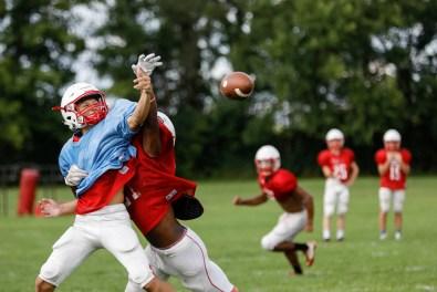 Eastwood football practice