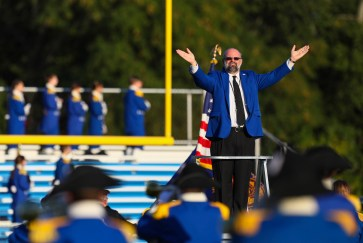 The Anthony Wayne Marching Generals. Photos by Jeremy Wadsworth