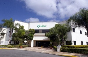 Merck has three manufacturing plants in Puerto Rico, where it employs 1,500 people.  (Credit: © Mauricio Pascual)
