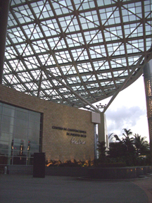 The Puerto Rico Convention Center in San Juan