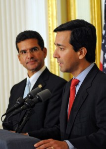 From left: Resident Commissioner Pedro Pierluisi and former Puerto Rico Gov. Luis Fortuño.