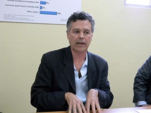 Eduardo Díaz, president of the Puerto Rico Broadband Taskforce