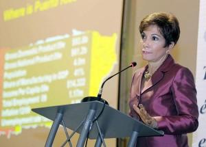 Economist Heidie Calero (Credit: © Mauricio Pascual)