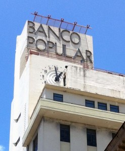 Banco Popular's Old San Juan offices. (Credit: © Mauricio Pascual)
