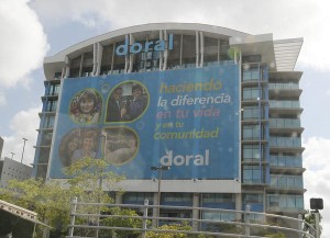 Doral Bank reported net losses for the second quarter ended June 30. (Credit: © Mauricio Pascual)