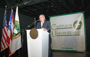 Chamber of Commerce President Pablo Figueroa