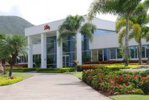 Eli Lilly's plant in Guayama is closing at the end of next year.