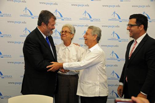 Pontifical University Casa Pueblo Seal Collaboration Agreement