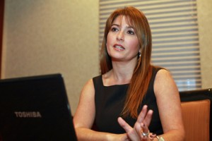 American Society of Travel Agents Puerto Rico chapter President Daphne Barbeito.