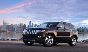 When broken down, the company reported 6,616 Jeep units sold last year, up 8 percent versus 2011, with the Jeep Wrangler and Grand Cherokee (in the photo) leading the pace.
