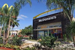 Arcos Dorados, parent company to the local McDonald's chain, moved up in the survey.