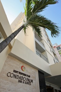 Best Western Plus Condado Palm Inn & Suites features 151 rooms, of which 33 are suites featuring a kitchenette.