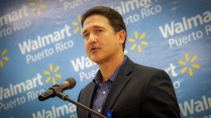 Jaime Fernández, Walmart Regional Manager for Puerto Rico