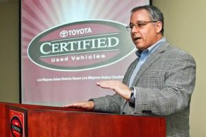 Mario Dávila, president of Toyota de Puerto Rico