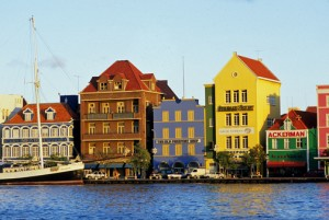Willemstad's colorful Punda waterfront district. (Credit: Larry Luxner)