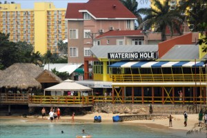 """""""Major economies from where visitors come continue to have challenges,"""" said Evelyn Smith, president of the Jamaica Hotel & Tourist Association. (Credit: Larry Luxner)"""