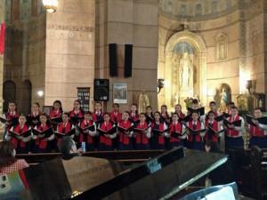 The San Juan Children's Choir will perform as part of Scotiabank's community effort.