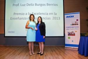 From left: Luz Burgos and Annette Rodríguez, Amgen's senior communications manager