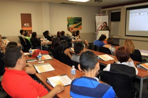 "Participants of the first edition of the ""Caguas Compite"" program."