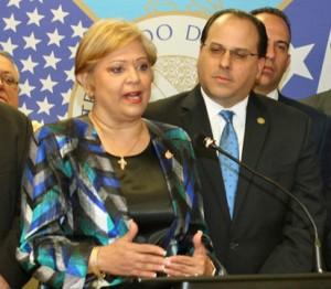 Enid Monge-Pastrana, president of the CUD. (Credit: www.centrounido.com)