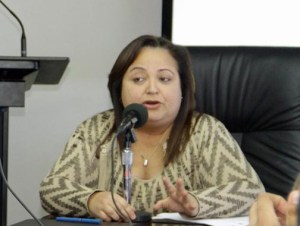 Treasury Secretary Melba Acosta