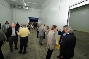 Panalpina inaugurated its new Carolina facility Thursday.