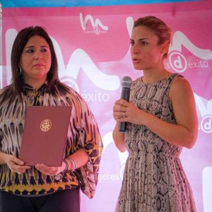 Sen. María T. González and Lucienne Gigante.