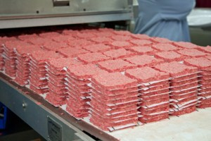 The EmProSur plant in Coamo makes Wendy's iconic square-shaped burgers.
