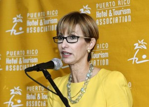 Puerto Rico Hotel and Tourism Association President Clarisa Jiménez  (Credit: © Mauricio Pascual)