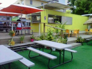 """""""We want to be ready for that day,"""" said Tres B Owner Mario Ormaza of the Loíza St. Fest. Since being written up in NIMB earlier this year, the open-air eatery has expanded its space area to accommodate more clients and soon will add a small retail store to sell books and magazines."""