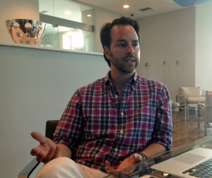 Aaron Stewart first visited Puerto Rico four years ago on vacation, and is now envisioning it as a place to do business.