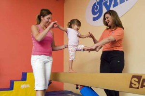 The business offers gym, karate, dance and sports classes to participating children.